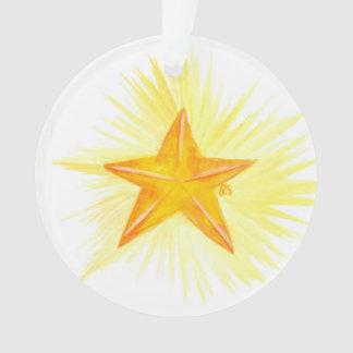advent Jesse Tree Star Ornament
