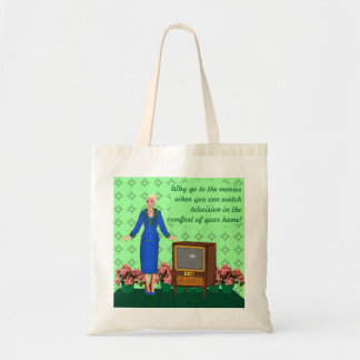 Advent of Television Canvas Bag