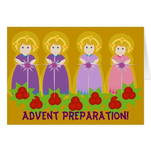 ADVENT Preparation! -Customize Greeting Card