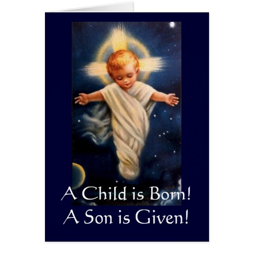 Advent Propter Nos, A Child is Born! Cards