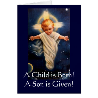 Advent Propter Nos, A Child is Born! Greeting Card