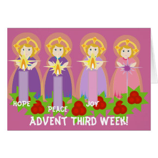 ADVENT Third Week Joy-Customize Card