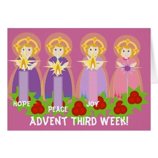 ADVENT Third Week Joy-Customize Greeting Cards