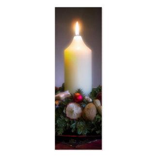 Advent Wreath • Christmas Profilecard / Gift Tag Business Card Templates