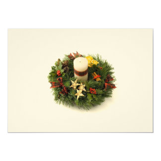 Advent Wreath Invitation
