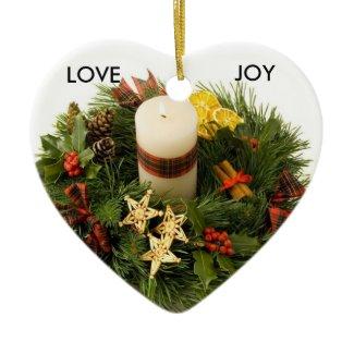 Advent Wreath Ornament ornament