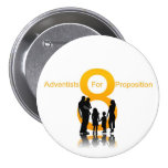 Adventists For Prop 8 3 Inch Round Button