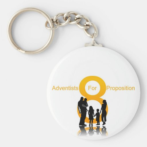 Adventists For Prop 8 Key Chain