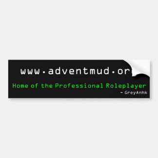 adventmud.org - Roleplaying profesional Pegatina Para Auto