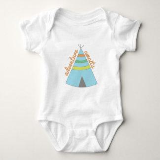 Adventure Awaits Baby Bodysuit