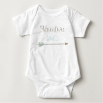 Adventure Awaits Baby Outfit Baby Bodysuit