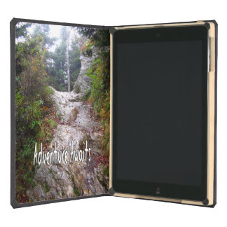Adventure Awaits just over the Trail Case For iPad Air