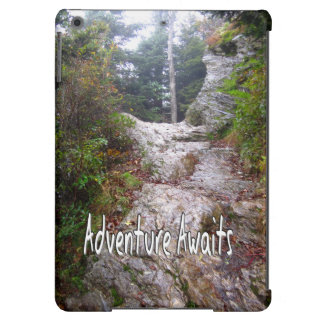 Adventure Awaits just over the Trail iPad Air Case