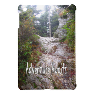 Adventure Awaits just over the Trail Case For The iPad Mini
