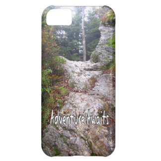 Adventure Awaits just over the Trail iPhone 5C Case