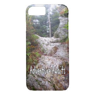 Adventure Awaits just over the Trail iPhone 8/7 Case