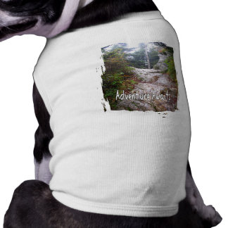 Adventure Awaits just over the Trail Pet Shirt