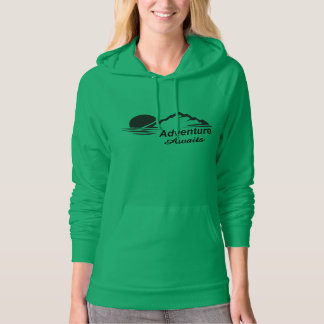 Adventure Awaits Nature Great Outdoors Hoodie