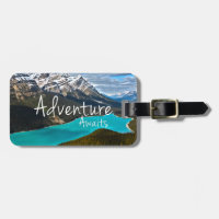 Adventure Awaits Photography Luggage Tag