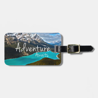 Adventure Awaits Photography Luggage Tag