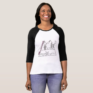 Adventure awaits: Sketch T-Shirt