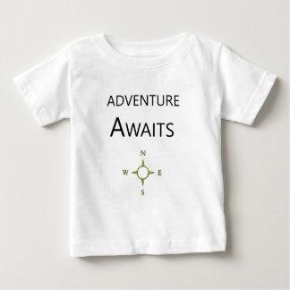 Adventure Awaits Wee One Baby T-Shirt