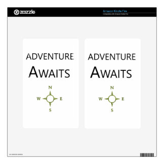 Adventure Awaits Wee One BEAUTIFUL Kindle Fire Decals