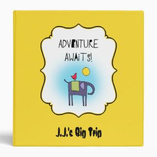 Adventure Awaits Whimsical Travel Binder