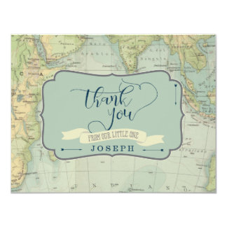 Adventure Baby Shower Thank You Cards