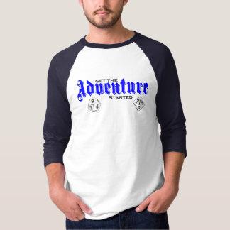 """Adventure"" Baseball T-Shirt"