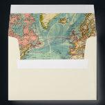 "Adventure Begins Envelope World Map Vintage<br><div class=""desc"">♥ Envelope matching all your party items! Adventure Begins Theme.</div>"
