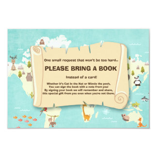Adventure Bring a book Travel The places Animals Card