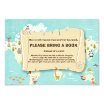 Adventure Bring a book Travel The places Animals Invitation