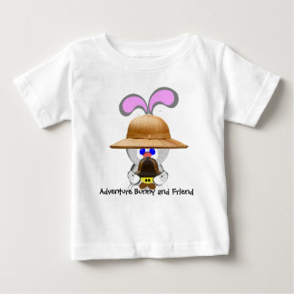 Adventure Bunny and Friend Baby T-Shirt