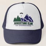 "Adventure Club for Underachievers trucker hat<br><div class=""desc"">Trucker hat</div>"