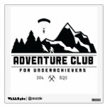 Adventure Club for Underachievers wall decal<br><div class='desc'>Transparent background</div>