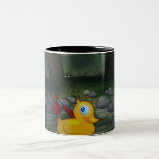 Adventure Duck Two-Tone Coffee Mug