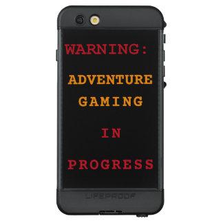Adventure Gaming In Progress LifeProof NÜÜD iPhone 6s Plus Case