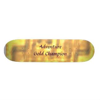 Adventure Gold Champion Skateboard Deck