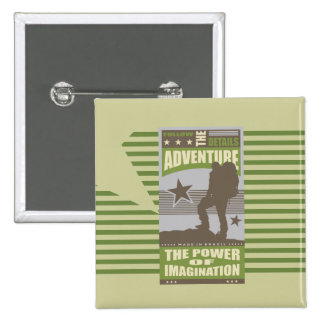 Adventure Hiking T-shirts and Gifts Button