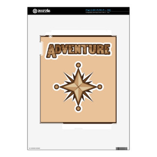 Adventure Illustration iPad 2 Decals