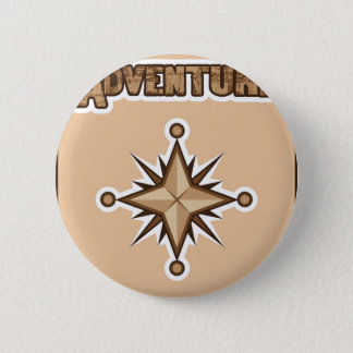 Adventure Illustration Pinback Button