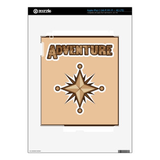 Adventure Illustration Skins For iPad 3