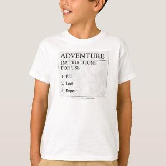 Adventure Instructions T-Shirt