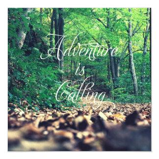 Adventure is calling custom invite