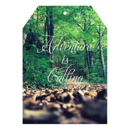 Adventure is calling custom invites