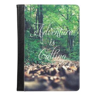 Adventure is calling iPad air case