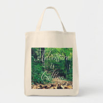 adventure, freedom, quote, cool, funny, motivationnal, dream, be yourself, grocery, tote, lifestyle, inspirationnal, free, nature, quotation, fun, unique, life, grocery tote, Bag with custom graphic design