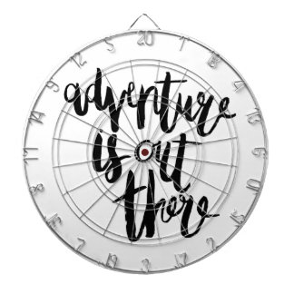 Adventure  is Out There Dartboard