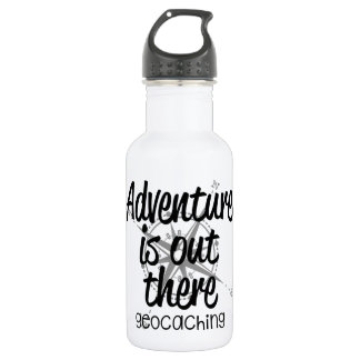 Adventure is Out There Stainless Steel Water Bottle